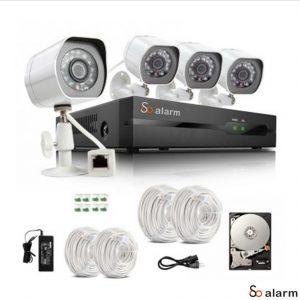 Kit Camera NVR So Alarm